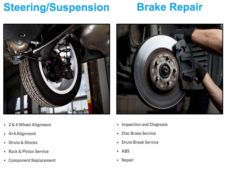 brake steering repair florida