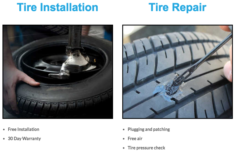 tire repair installs florida